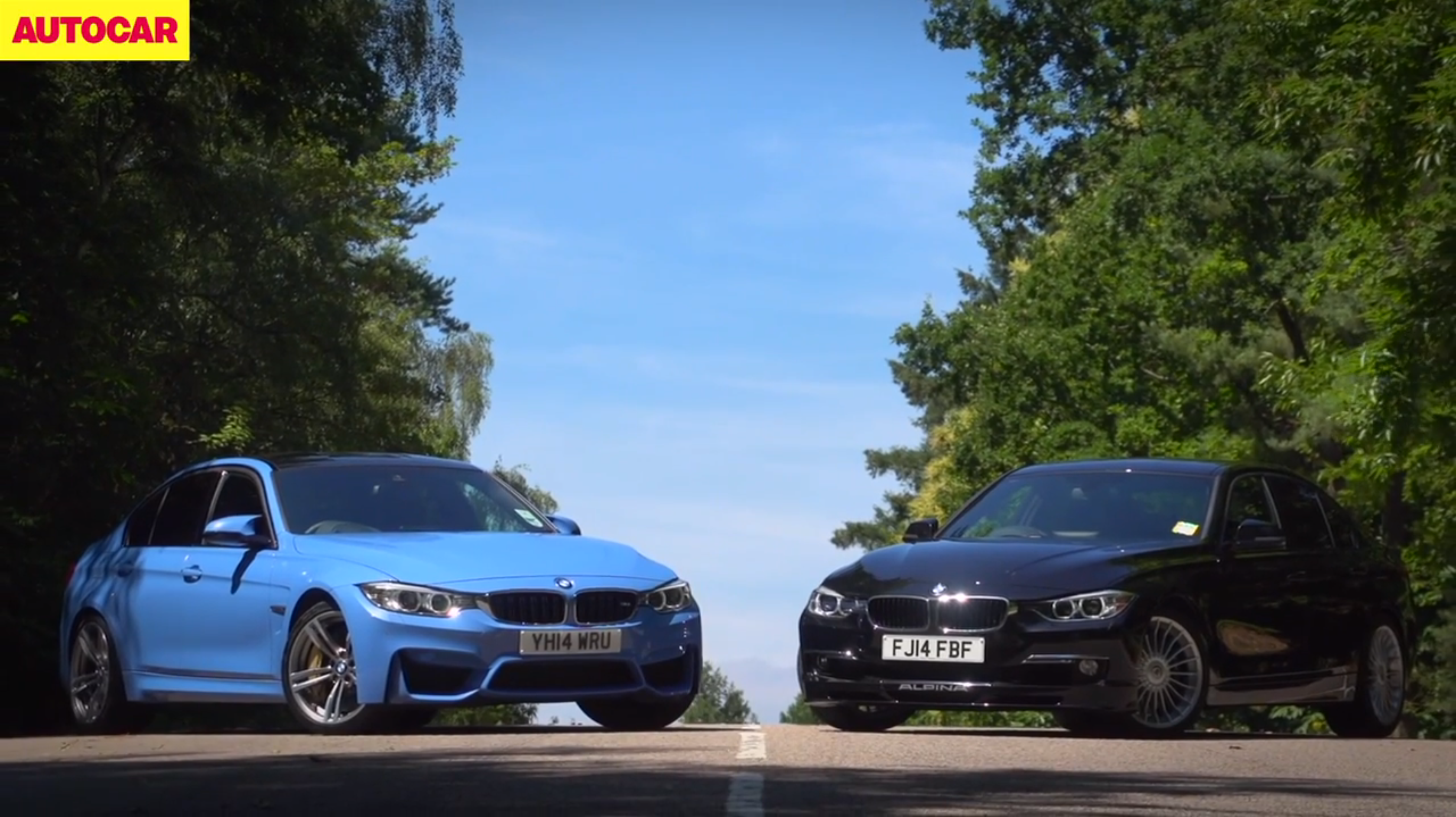 Video The Bmw M3 Vs The Alpina D3 Bimmerfile