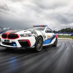 The BBMW M8 MotoGP Safety Car