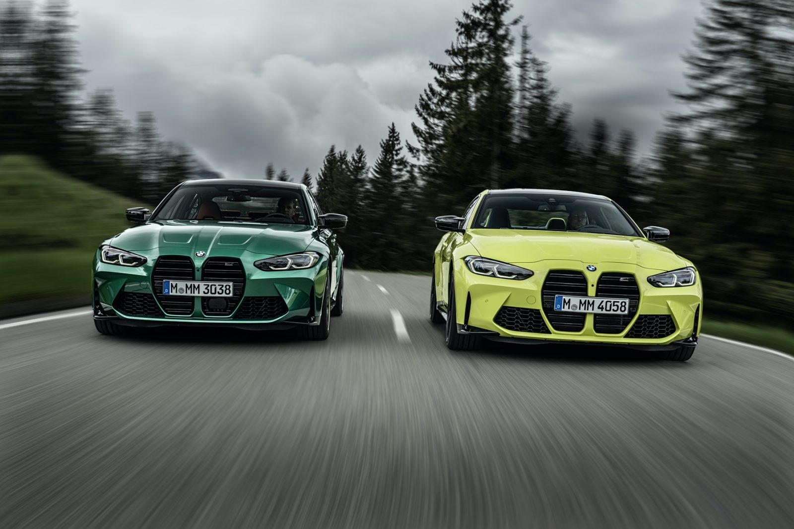 new BMW M3 and BMW M4