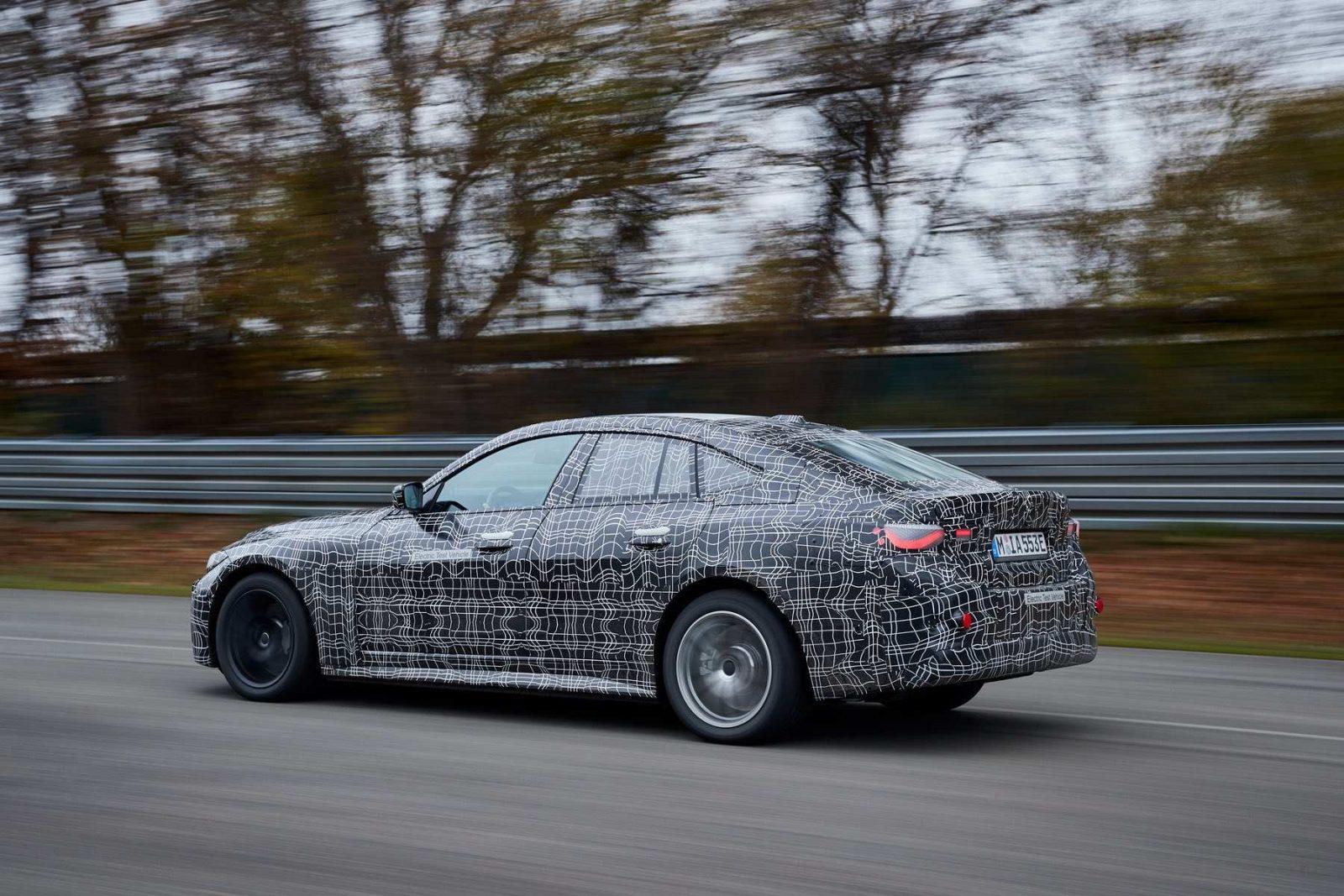 electric BMW i4
