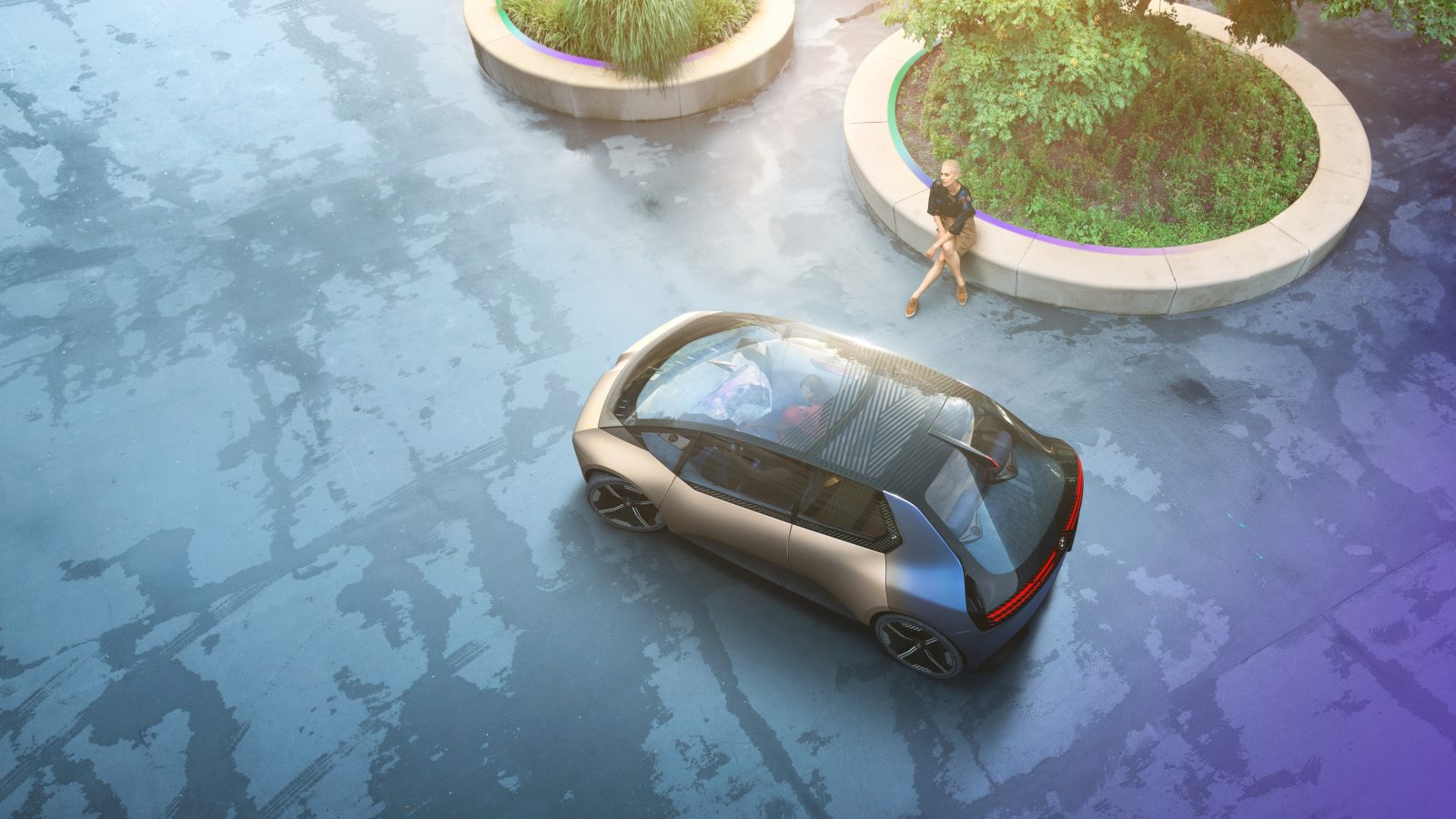 BMW i circular vision